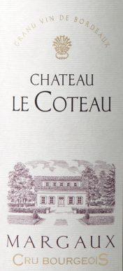 Château Le Coteau Margaux 2010 MAGNUM