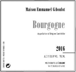 Giboulot Bourgogne Blanc