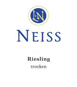 Neiss Riesling Estate Trocken 2015