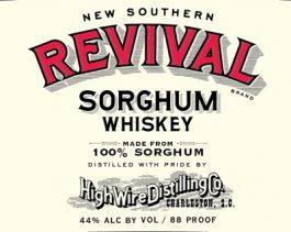 New Southern Revival Sorghum Whiskey