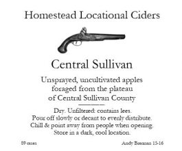 Aaron Burr Cidery Homestead-Apple