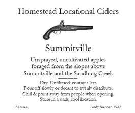 Aaron Burr Cidery Homestead-Apple