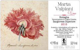 Marta Valpiani Romagna Sangiovese DOP Superiore 2016