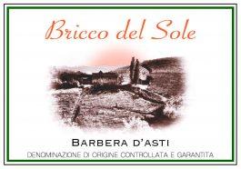 Bricco del Sole Barbera d'Asti DOCG