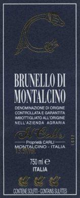 Il Colle Brunello di Montalcino 2010