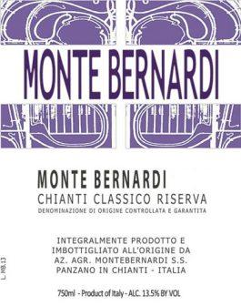 Monte Bernardi Chianti Classico Riserva DOCG 2012