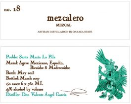 Batch #18 Mezcal Blanco