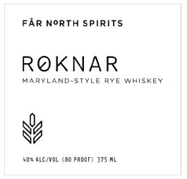 Roknar Maryland-Style Rye Whiskey