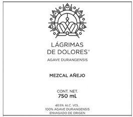Lágrimas de Dolores Cenizo Mezcal Añejo