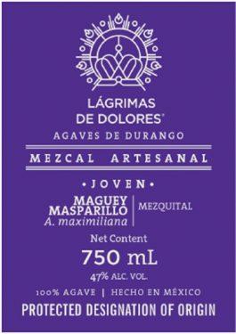 Lágrimas de Dolores Mezcal Masparillo Joven