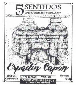 Cinco Sentidos Espadín Capón