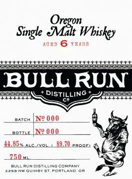 Bull Run Single Malt Whiskey