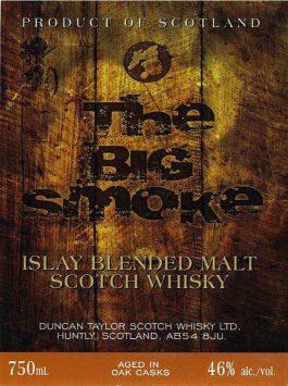 Big Smoke Islay Blended Malt Whisky