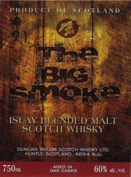 Big Smoke 120 Proof Islay Blended Malt Whisky