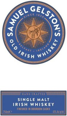 Gelston's Single Malt Irish Whiskey