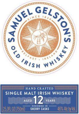Gelston's 12 Year Single Malt Irish Whiskey
