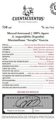 Espadín Mezcal Artesenal by Maximiliano