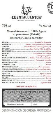 Tobalá Mezcal Artesenal by Everado García Salvador
