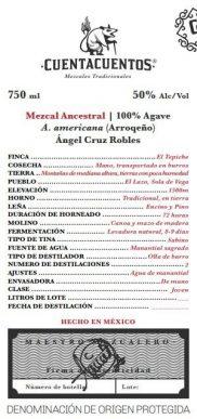 Arroqueño Mezcal Artesenal by Ángel Cruz Robles