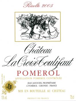 Château La Croix-Toulifaut Pomerol 2008 HALF BOTTLE