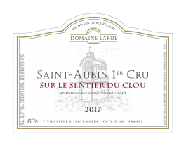Domaine Larue Saint-Aubin 1er Rouge Cru