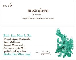 Batch #16 Mezcal Blanco