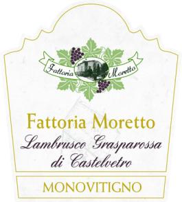 Fattoria Moretto Lambrusco Grasparossa di Castelvetro Secco