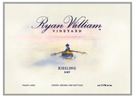 Ryan William Vineyard Estate Riesling Finger Lakes 2013