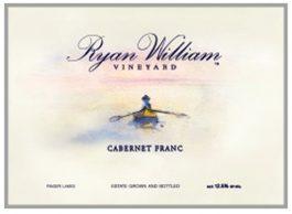 Ryan William Vineyard Estate Cabernet Franc Finger Lakes 2012