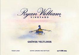 Ryan William Vineyard Estate Gruner Veltliner Finger Lakes 2013