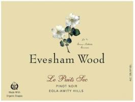 Evesham Wood Estate Pinot Noir Le Puits Sec Vineyard Eola-Amity 2014