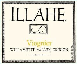 Illahe Vineyards Viognier Willamette Valley