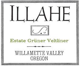Illahe Vineyards Grüner Veltiner Willamette Valley