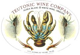 Teutonic Blanc Alsea Vineyard