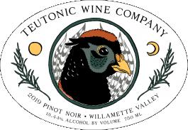 Teutonic Pinot Noir Willamette Valley