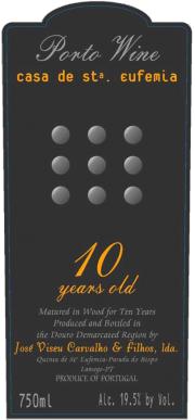 Casa de Santa Eufemia 10 Year Tawny Port