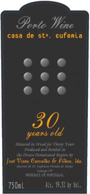 Casa de Santa Eufemia 30 Year Tawny Port