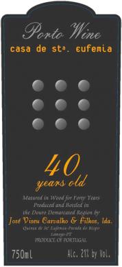 Casa de Santa Eufemia 40 Year Tawny Port