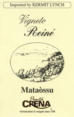 Punta Crena Colline Savonesi Mataòssu