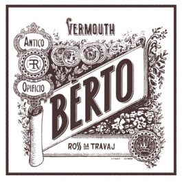 Bèrto Ross da Travaj Red Vermouth