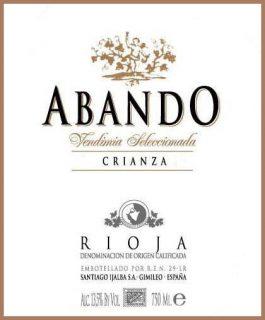 Abando Crianza Rioja