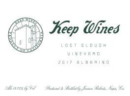 Keep Wines Albariño California