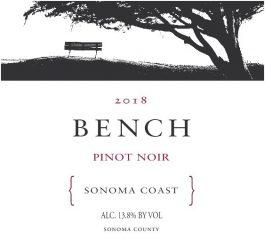 Bench Pinot Noir Sonoma Coast