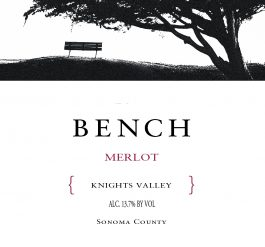 Bench Merlot Knights Valley 2015