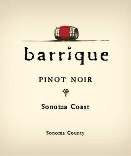 Barrique Pinot Noir Sonoma Coast