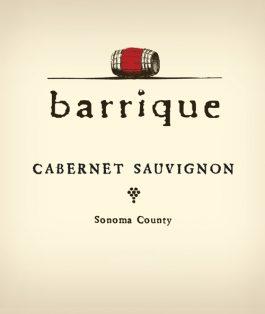 Barrique Cabernet Sauvignon Sonoma County 2015