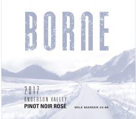 Borne Pinot Noir Rosé Anderson Valley 2017