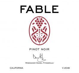 Fable Pinot Noir California