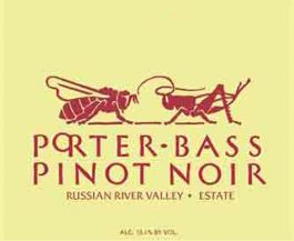 Porter Bass Estate Pinot Noir Russian River Valley
