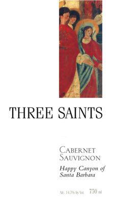 Three Saints Cabernet Sauvignon Happy Canyon 2013